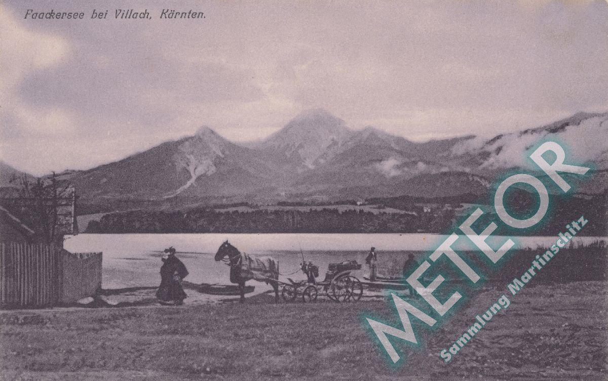 1906 - Ehemaliger Strand der Gemeinde Maria Gail - Verlag Joh. Leon sen. Klagenfurt 1