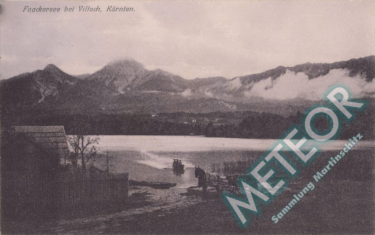 1906 - Ehemaliger Strand der Gemeinde Maria Gail - Verlag Joh. Leon sen. Klagenfurt 2