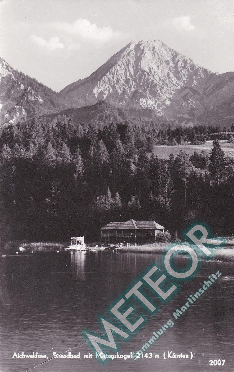 1963 - Aichwaldsee, Strandbad - Verlag oesterreichische Heimatbilder, Wien III - Nr. 2007